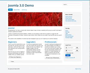 Thème Joomla 3.0